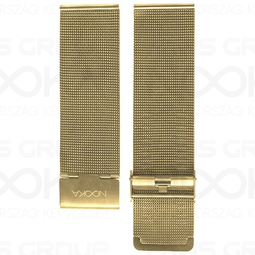 22mm Mesh Gold IP